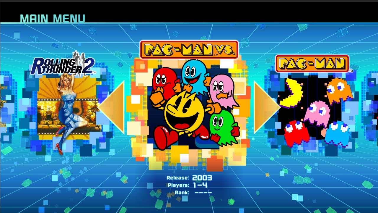 La Coleccion De Juegos Retro Namco Museum Ya Esta Disponible Para